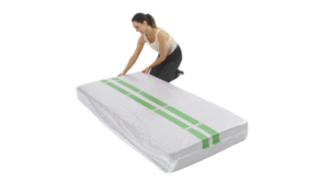 Mattress Cover - Single - Heavy Duty 75um (Roll of 50)